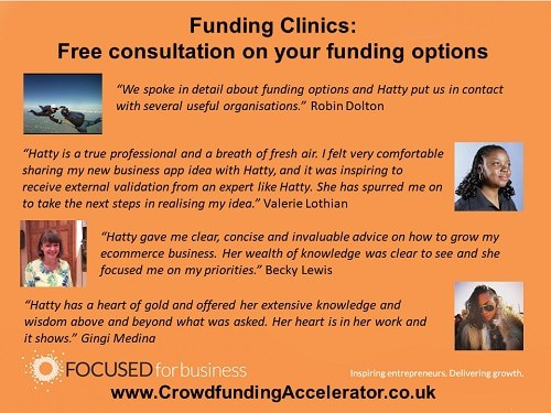 What people say about Funding Clinics