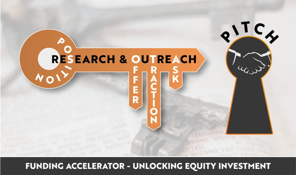 Funding Accelerator uses a proven methodology - The Key to unlocking investment