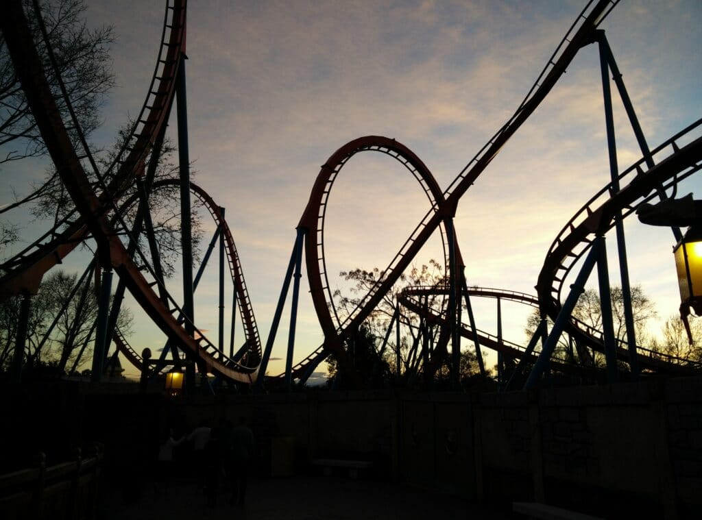 Running a startup can feel a bit like being on a roller coaster!